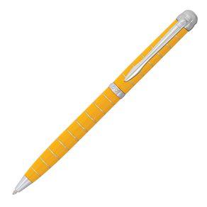 caneta-crown-stephanie-esferografica-amarela-de-frente-